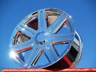 SET OF 4 CROSSFIRE OEM CHROME WHEELS FRONTS AND REARS 2229 2230