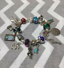 ALICE IN WONDERLAND Euro Pandora Bracelet CHK Out Alice New beads Too cute