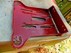 Murray 3801A 18hp 42 riding mower seat mount with hinge lot 697CHECK PICTURE