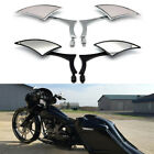 Motorcycle Rearview Mirrors For Harley-Davidson Street Glide Road King Softail