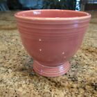 VINTAGE FIESTA GENUINE ROSE EGG CUP/ MINT CONDITION!