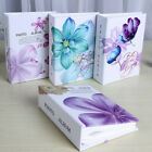 4x6 Inch Flowers Large Memories Photo Album Holds 100 Photos For Gifts Present