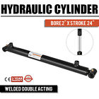 Hydraulic Cylinder For Loader Welded Double Acting 2 Bore 24 Stroke 2x24