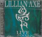 Live 2002 by Lillian Axe (2CD's, 2002, Red & Gold Records) SEALED / FREE S&H