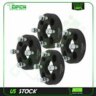 4X black wheel spacers 4x100 12x15 studs 1 for Toyota Prius Chevrolet Cobalt