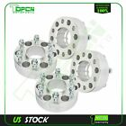 4X silver wheel spacers 6x5 12x15 studs 2 thick for Chevrolet Trailblazer GMC