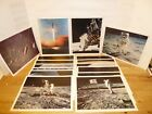 Vintage 16 Official NASA Apollo Space Mission Photos Pictures Prints Ca 1969