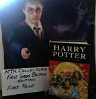 Harry Potter and the Deathly Hallows 1st Edition printed in Great Britain HC DJ