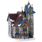All Ye Faithful Church Lemax XMAS Lighted Building Village Rare Collections