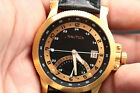 Mens nautica retrograde hour hand military dial n13534 stainless steel watch