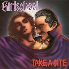 Girlschool Take a Bite UPC 018777540629  Enigma Records CD ‎– 7 75406-2