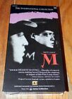 M International Collection VHS Peter Lorre Fritz Lang Film Noir
