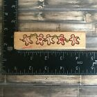 Penny Black Gingerbread Border Winter Holiday Rubber Stamp