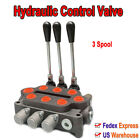 Hydraulic Control Valve 3 Spool for Small tractor Tractor loader Log splitter