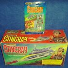 Gerry Anderson 1992 13 Matchbox Stingray with box  MOC Troy Tempest figure