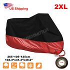 XXL Motorcycle Red Cover For Honda Shadow VLX VT 600 Deluxe VTX 1300