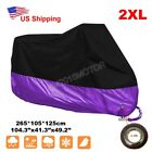 XXL Motorcycle Purple Cover For Honda Shadow VLX VT 600 Deluxe VTX 1300