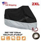 XXL Motorcycle Silver Cover For Honda Shadow VLX VT 600 Deluxe VTX 1300