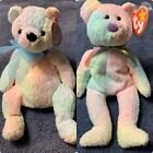 Two Ty Beanie Babies Mellow And Groovy Mint Condition