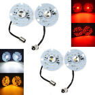 1157 Yellow White Red LED Turn Signal Lights Blinker DRL Fit For Harley Touring