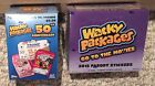 Topps Wacky Packages lot- 2018 Go to The Movies Box & 2017 50th Anniversary Box