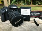 Canon EOS Rebel T3i EOS 600D 180MP DSLR Camera Black Kit w 18 55mm lens