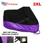 XXL Motorcycle Cover For Honda Shadow VLX VT 600 Deluxe VTX 1300