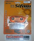 Front Brake Pads Sifam Daelim VT 125 Evolution 1998 to 2003 (S1071N)