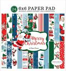 Carta Bella Double Sided Paper Pad 6X6 24 Pkg Merry Christmas 12 Designs 2 Ea