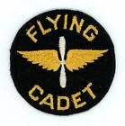 1939 1942 WW2 US Army Air Corps Flying Cadet patch pointed wings twill SSI patch