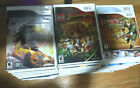 Wii Nintendo Video Games See Description for details per title Pre owned