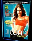 Jillian Michaels 30 Day Physical Fitness Shred DVD 2008 FREE SHIPPING