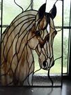 Stained Glass Window Panel of Horse