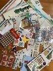 HUGE Lot of Stickers and Scrapbooking embellishments