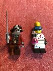 Lego Series 14 Monsters Crazy Scientist Zombie Pirate Minifigures Used