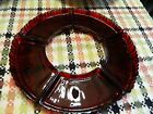 Rare Vintage Anchor Hocking Old Cafe Royal Ruby Red Glass Inserts Lazy Susan
