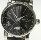 MONTBLANC Star 7102 Date Automatic Leather Belt Men's Watch_497391
