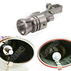 Universal Turbo Sound Blow Off Simulator Car Exhaust Muffler Pipe Whistle Silver