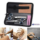 Professional Barber Hair Cutting Thinning Scissors Shears Set Hairdressing Salon