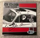 JOE COCKER - Hard Knocks Autographed CD Booklet RARE Beckett Authentic RIP