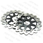 320mm L&R Front Brake Disc Rotors For Suzuki TL1000R/S GSX-R600/750/1000/1300