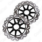 1 Pair L+R Front Brake Disc Rotors For Ducati ST2 944 ST3 1000 ST4 916 S ABS 996
