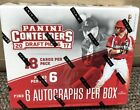 2017 panini contenders Draft Picks Baseball Factory Sealed Hobby Box