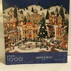 Springbok Jigsaw Puzzle 1000 Pieces CHRISTMAS IN THE CITY Series Dept 56 Preown