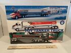 Exxon, Amoco, Texaco Toy Tanker Trucks, Lot Of 3, Dv