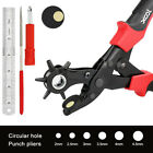 DIY 6 Size Universal Hand Leather Strap Watch Band Belt Tool Hole Punch Pliers