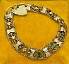 ANTIQUE LATE VICTORIAN GOLD CASED BRACELET WITH INTRICATE PATTERN FILIGREE