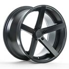 22 ROHANA RC22 MATTE BLACK WHEELS FOR BENTLEY CONTINENTAL GT FLYING SPUR