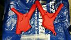 Honda CR 125 250 500 1989 89 Frame guards Red plastic UFO New NOS