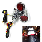 Motorcycle Turn Signals Red Lights For Harley-Davidson Sportster XL 1200 883